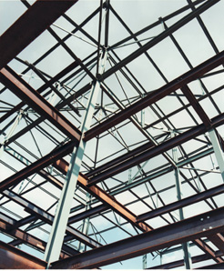 Beam And Stick Steelwork Mansard Roof Designs Hipped
